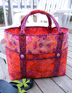 AT264 Large Tote Bag Pattern Big Sebago