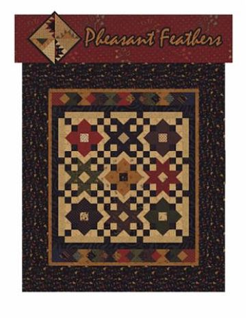 Kansas Troubles Pheasant Feathers Pattern Booklet 4 Quilt Projects