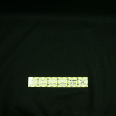 Supreme Solid Black Cotton Fabric